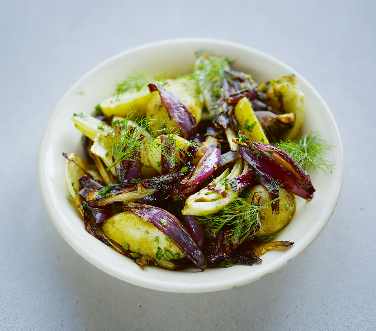 River Cottage 3 salads | Colin Campbell-Food Photographer