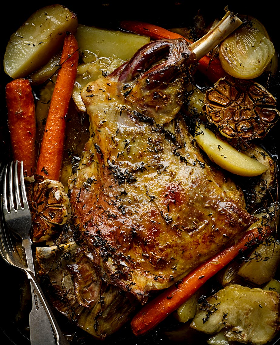 6 hour roast Lamb | Colin Campbell-Food Photographer