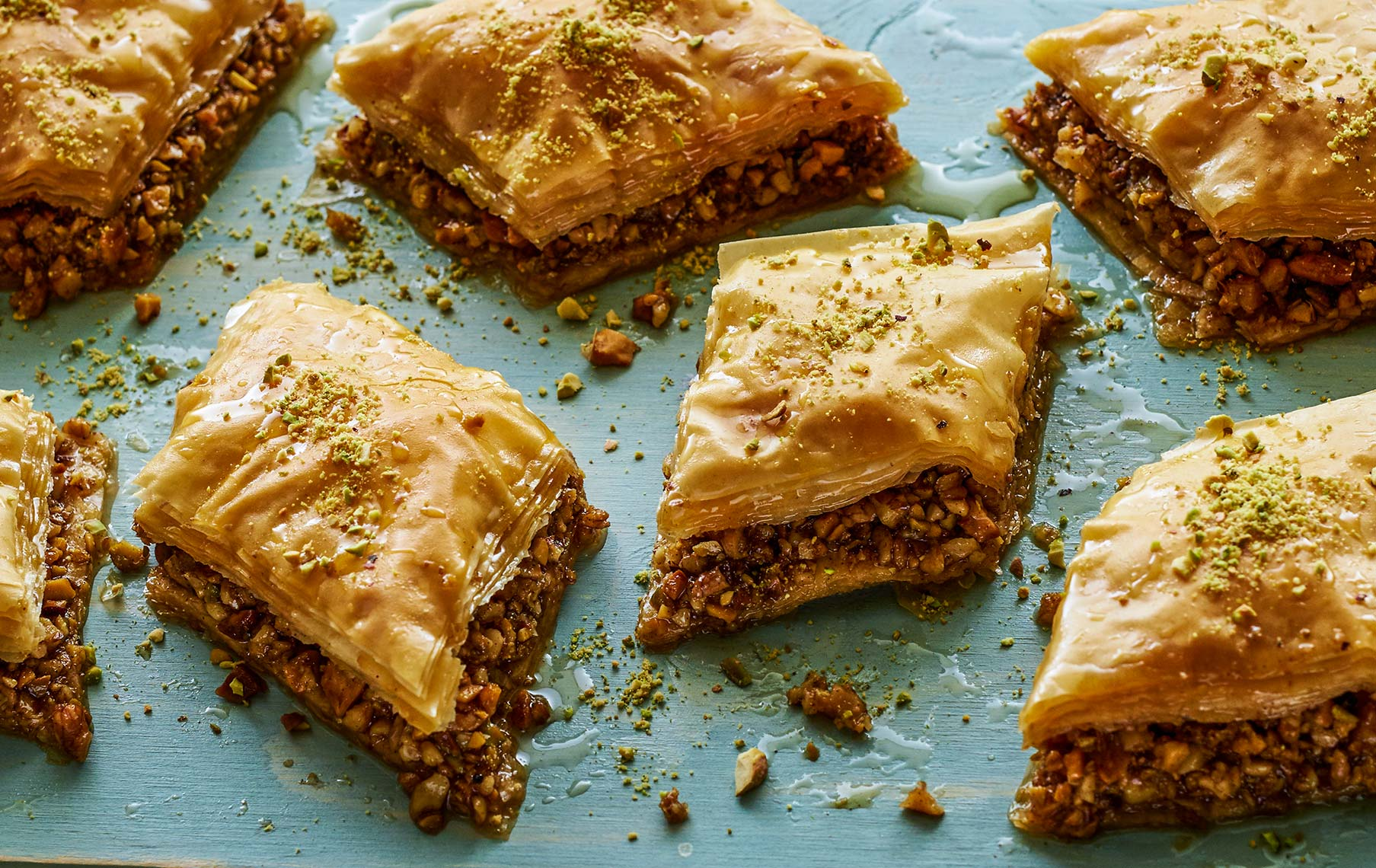 Home made Baklava | Colin Campbell - Food Photographer