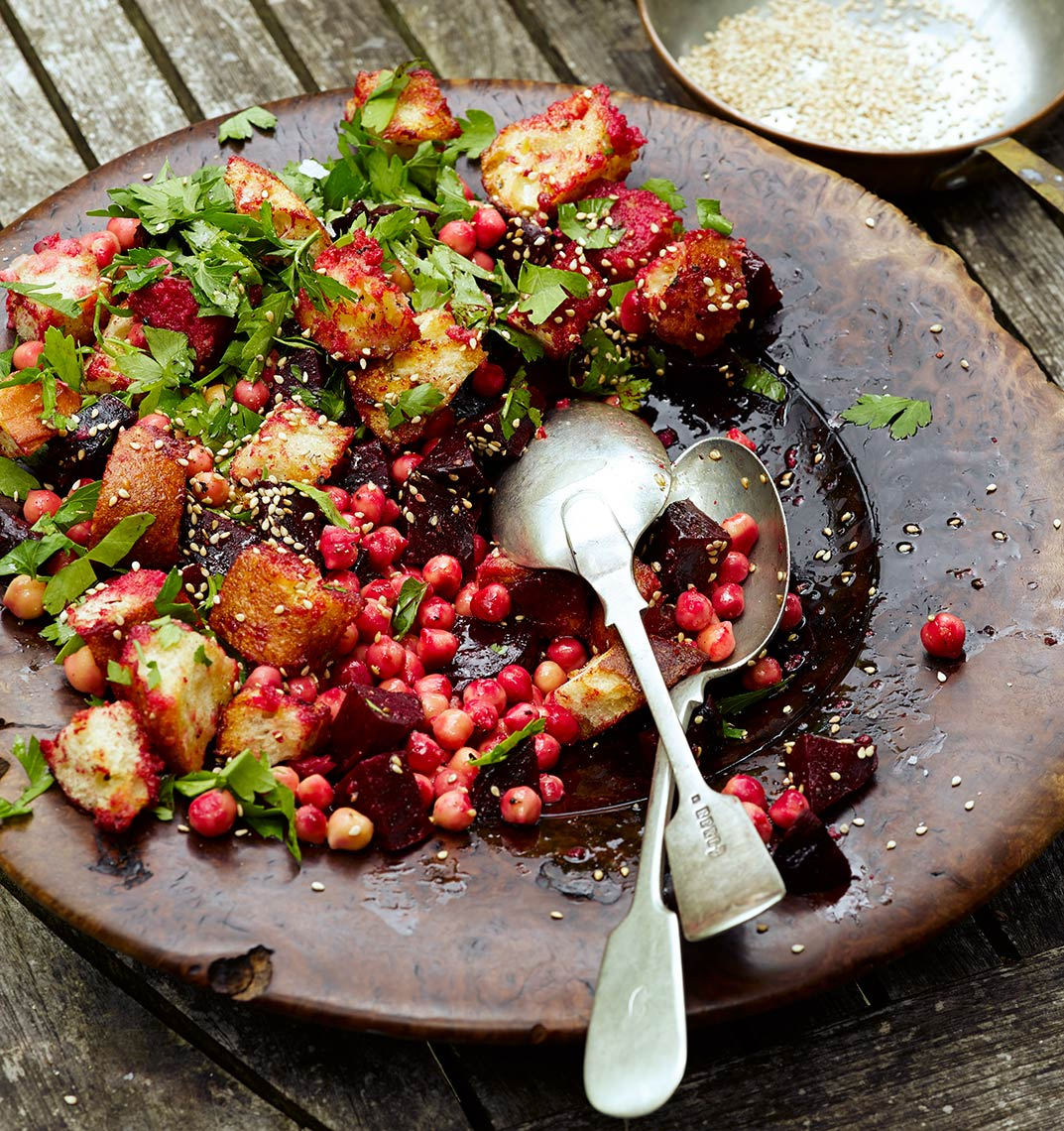 Beetroot sourdough chickpea | Colin Campbell - Food Photographer