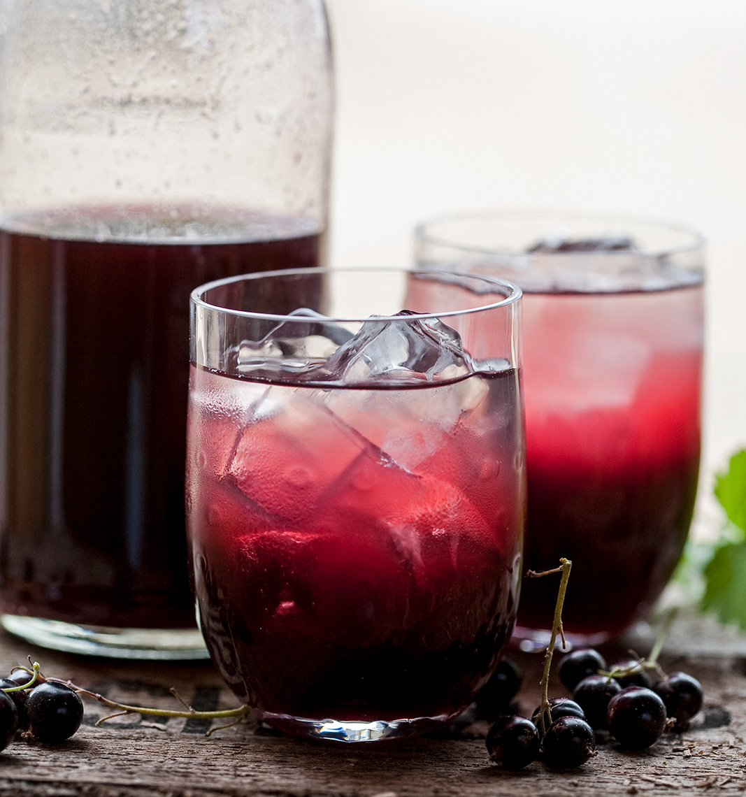 Home made Blackcurrant cordial | Colin Campbell - Food Photographer