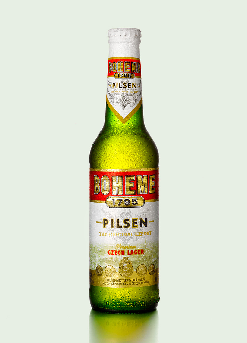 Boheme pilsen beer | Colin Campbell-Food Photographer