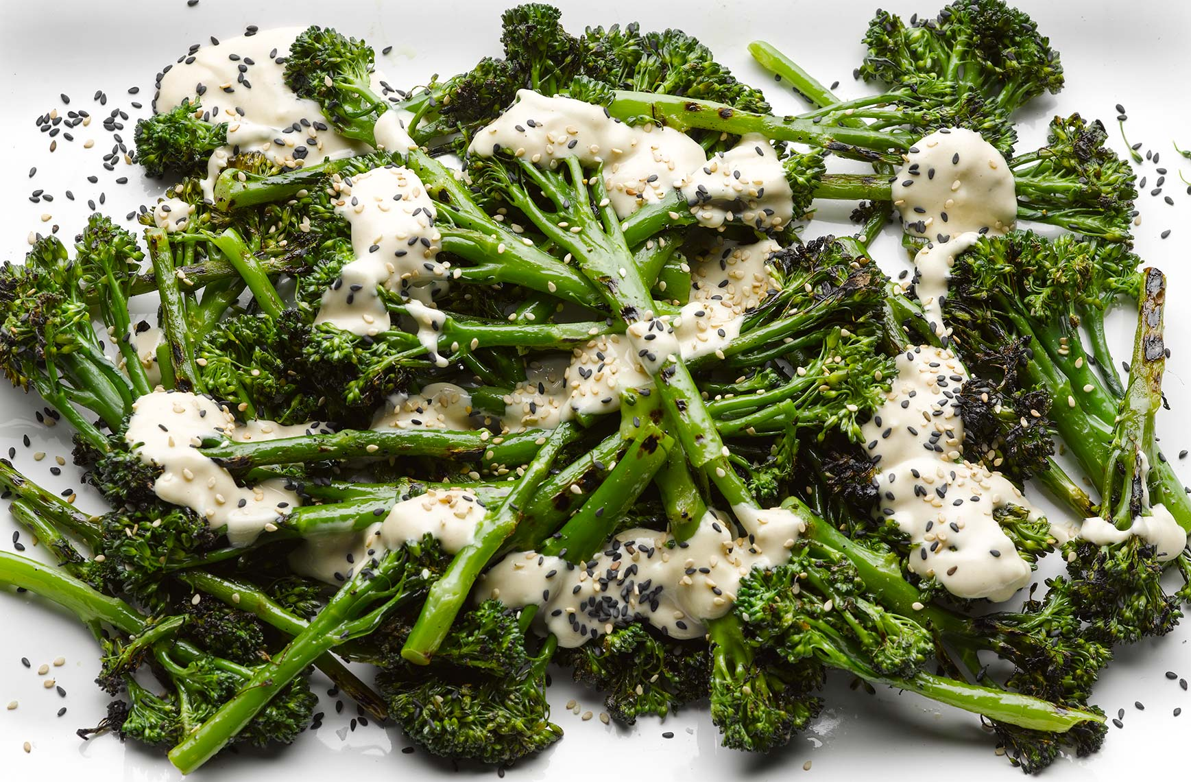 Ottolenghi Broccoli and tahini | Colin Campbell-Food Photographer
