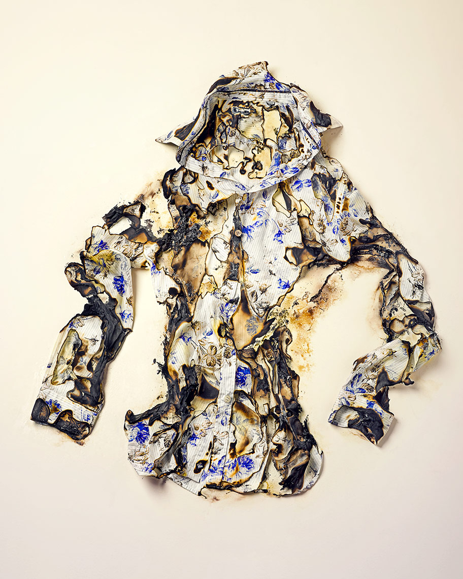 Burnt Shirt | Colin Campbell-Still Life Photographer