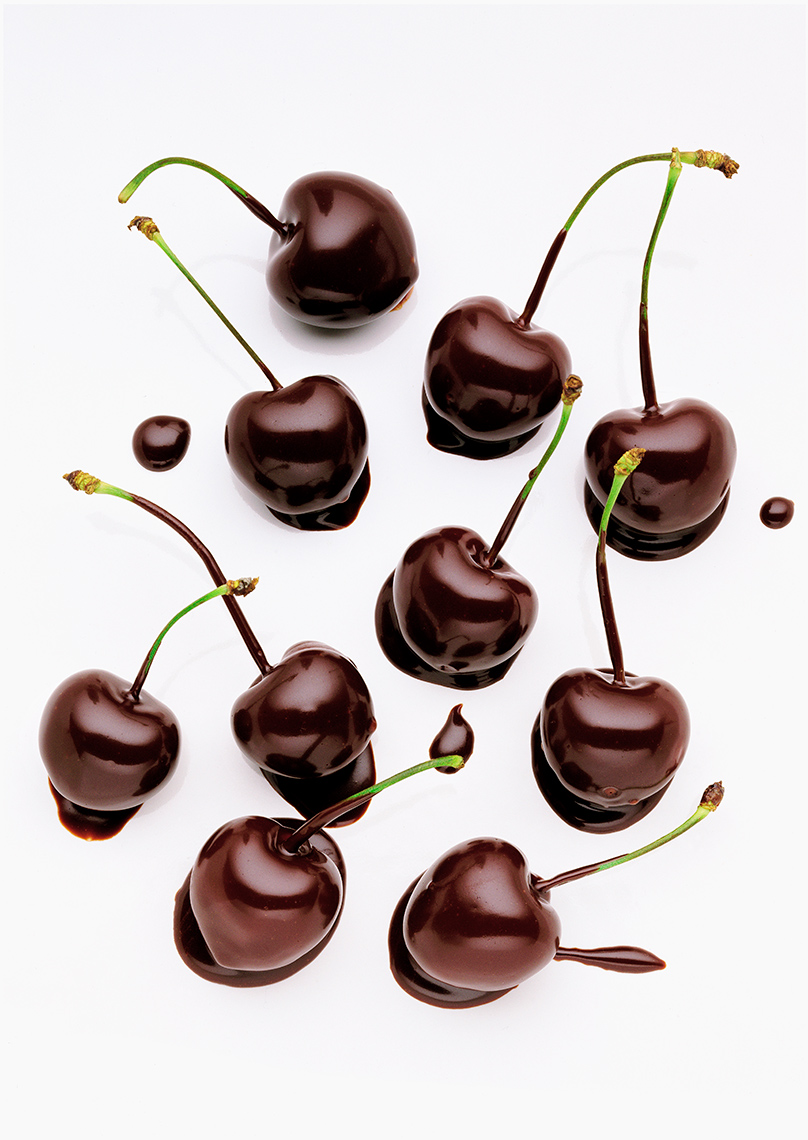 Chocolate Cherries | Colin Campbell - Food Photographer