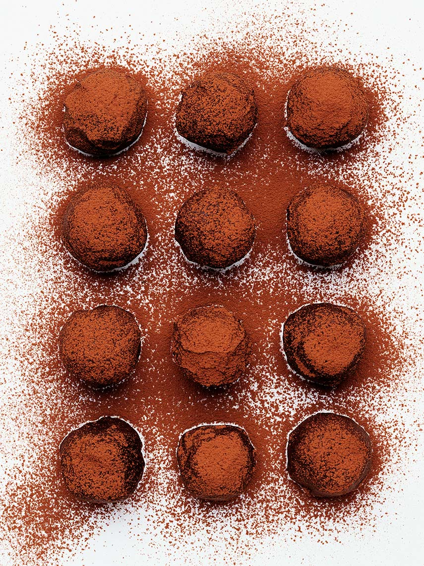 Chocolate truffles | Colin Campbell - Food Photographer