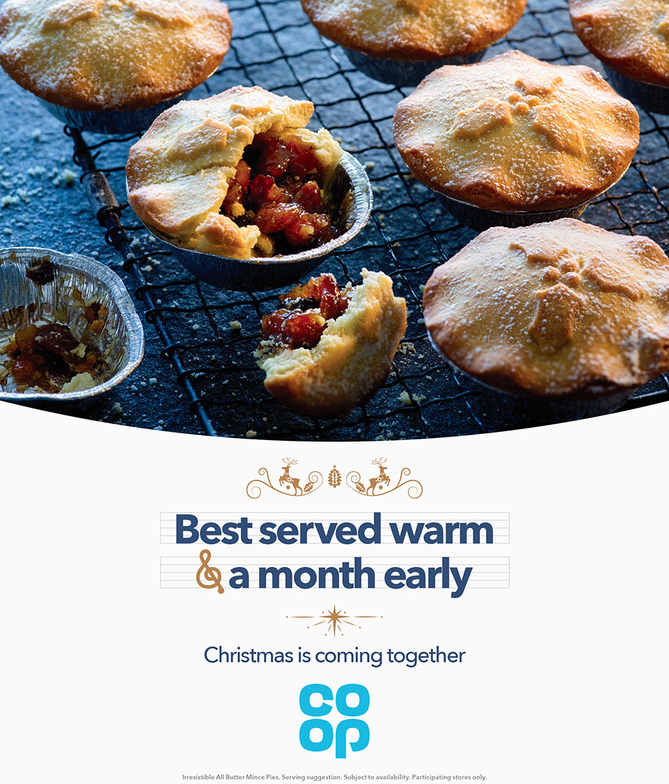Co-Op Christmas mince pies | Colin Campbell-Food Photographer