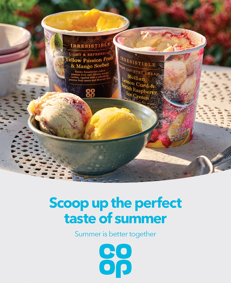 Co Op Ice cream | Colin Campbell-Food Photographer