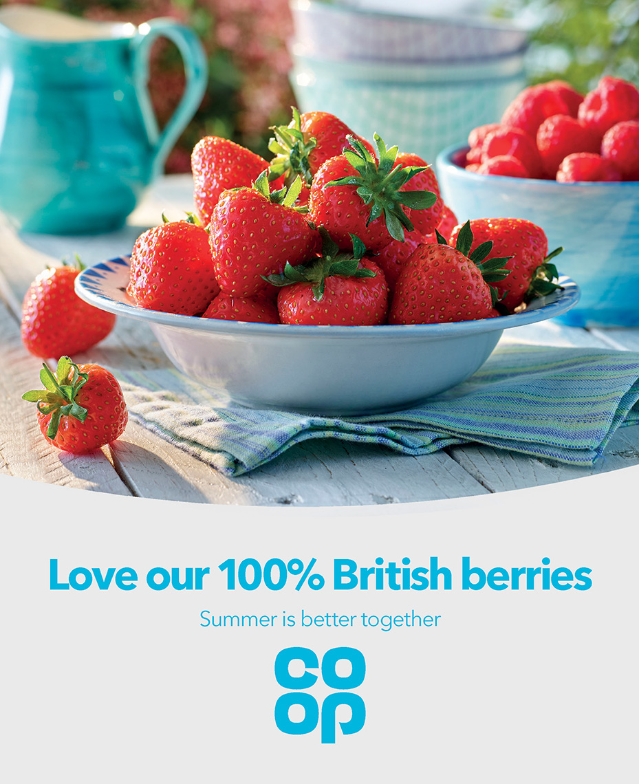Co Op strawberries | Colin Campbell-Food Photographer