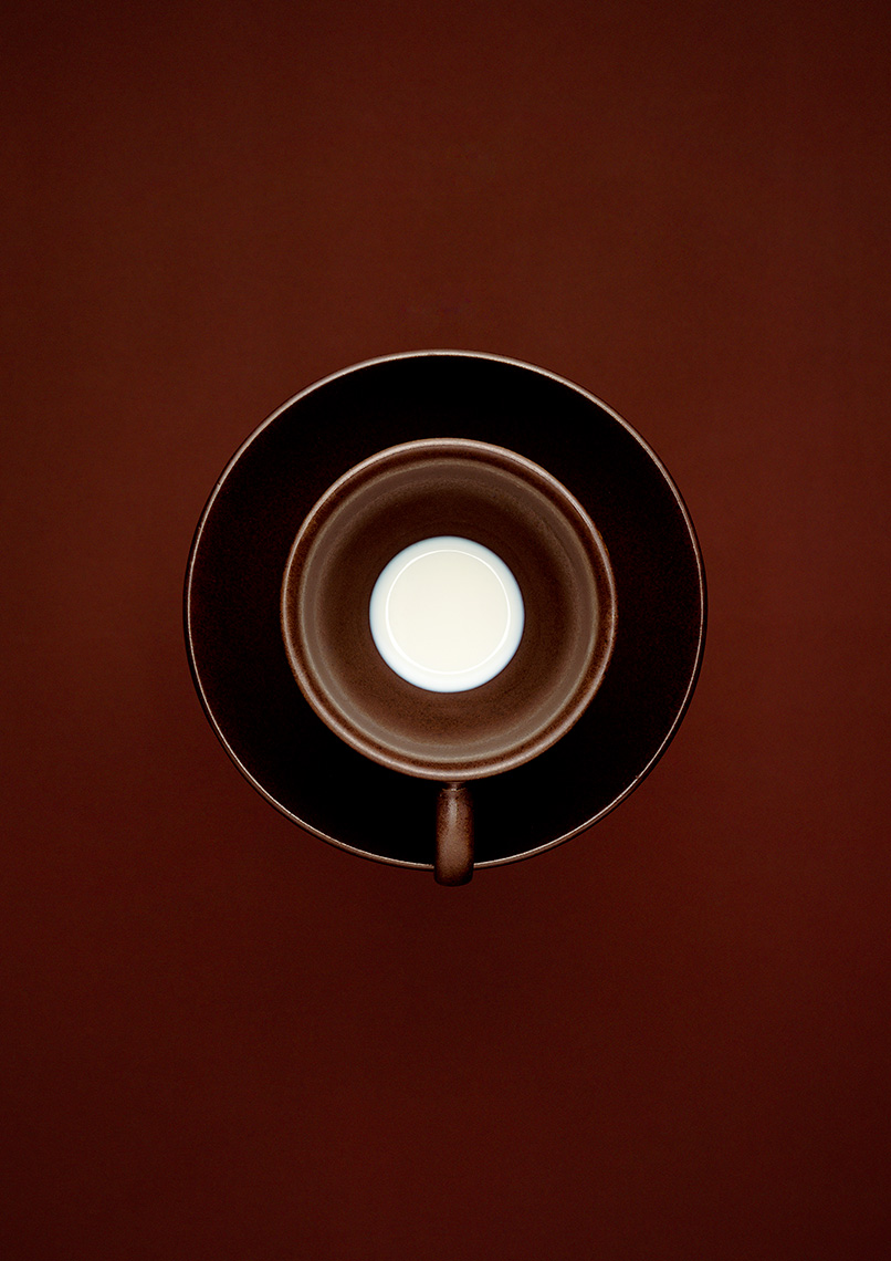 Coffee Cup from above | Colin Campbell-Food Photographer