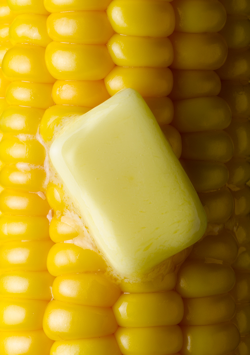 Corn on the cob with butter | Colin Campbell - Food Photographer