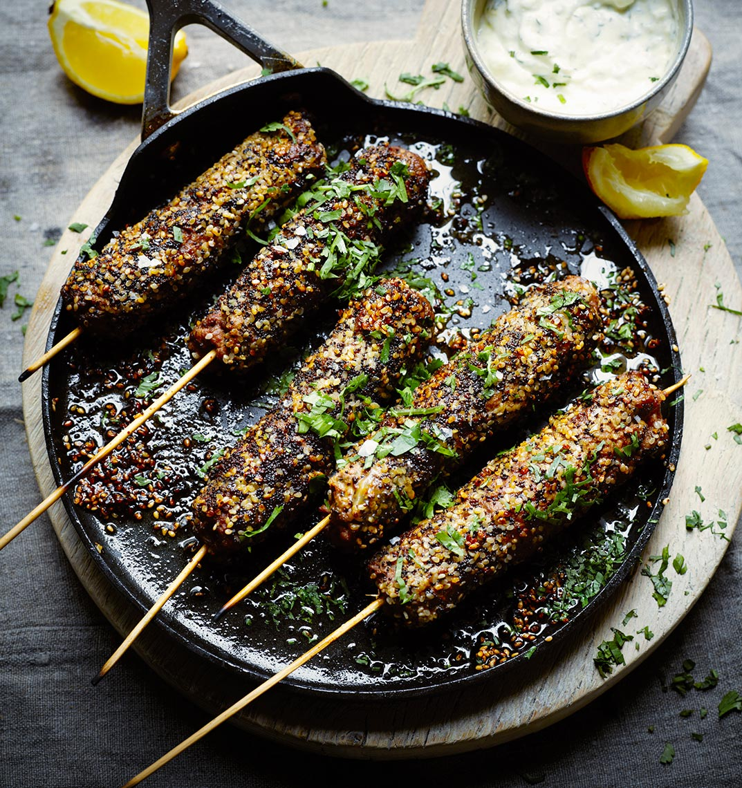 Cumin kebabs | Colin Campbell - Food Photographer