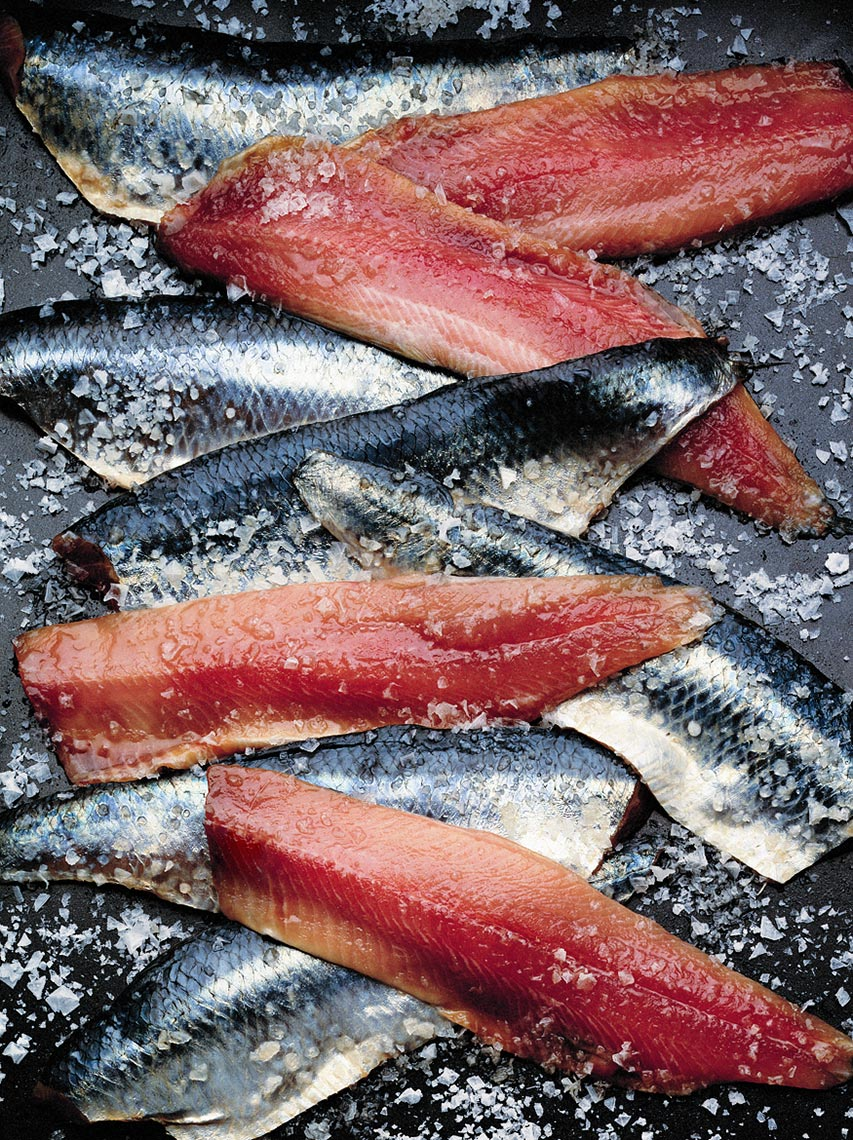 Fish slices | Colin Campbell - Food Photographer
