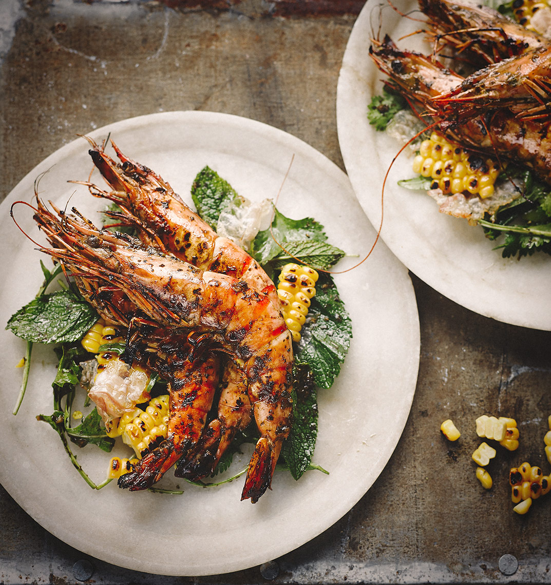 Grilled prawns and tamarind | Colin Campbell - Food Photographer