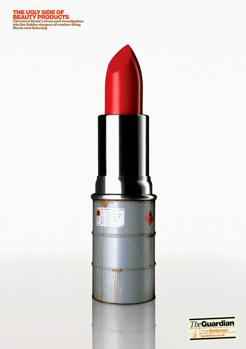 Guardian Lipstick | Colin Campbell-Still Life Photographer