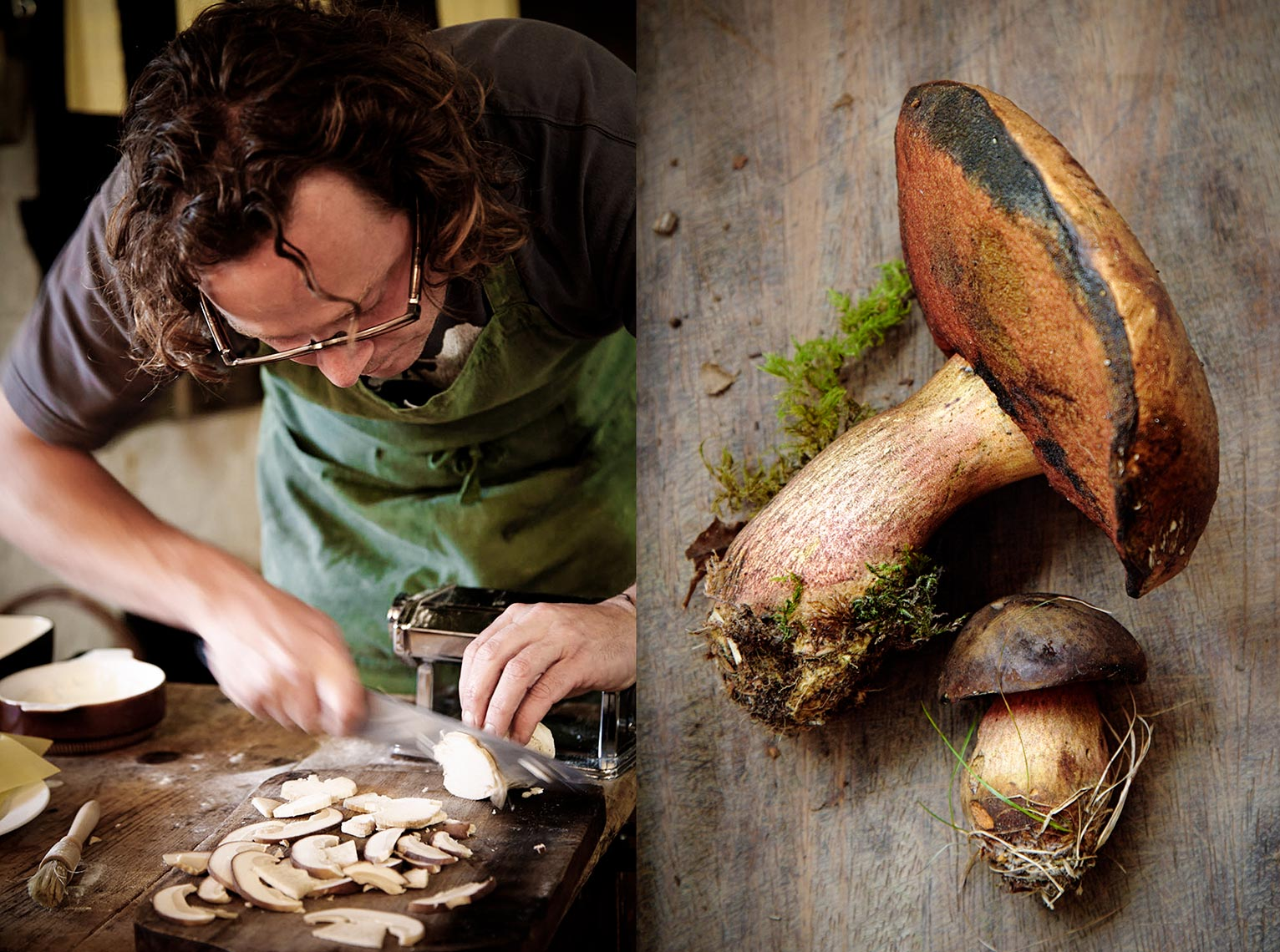 Hugh Mushroom | Colin Campbell - Food Photographer