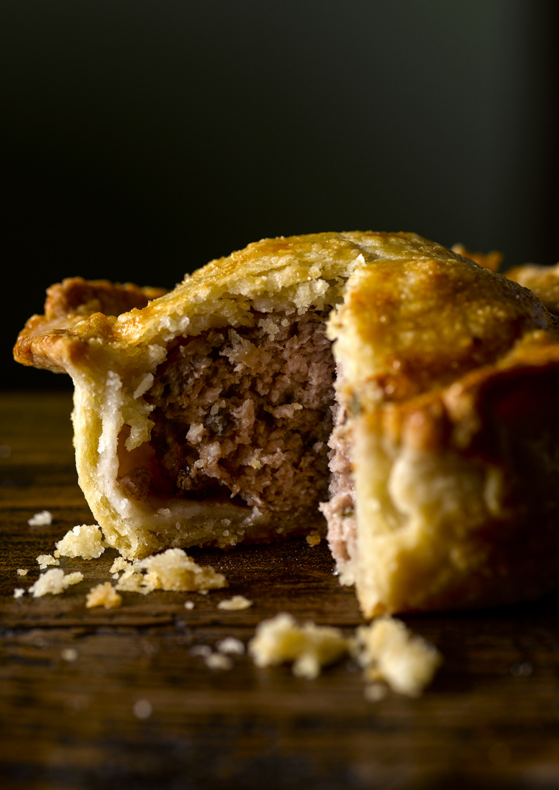 Jason Atherton pork pie | Colin Campbell-Food Photographer