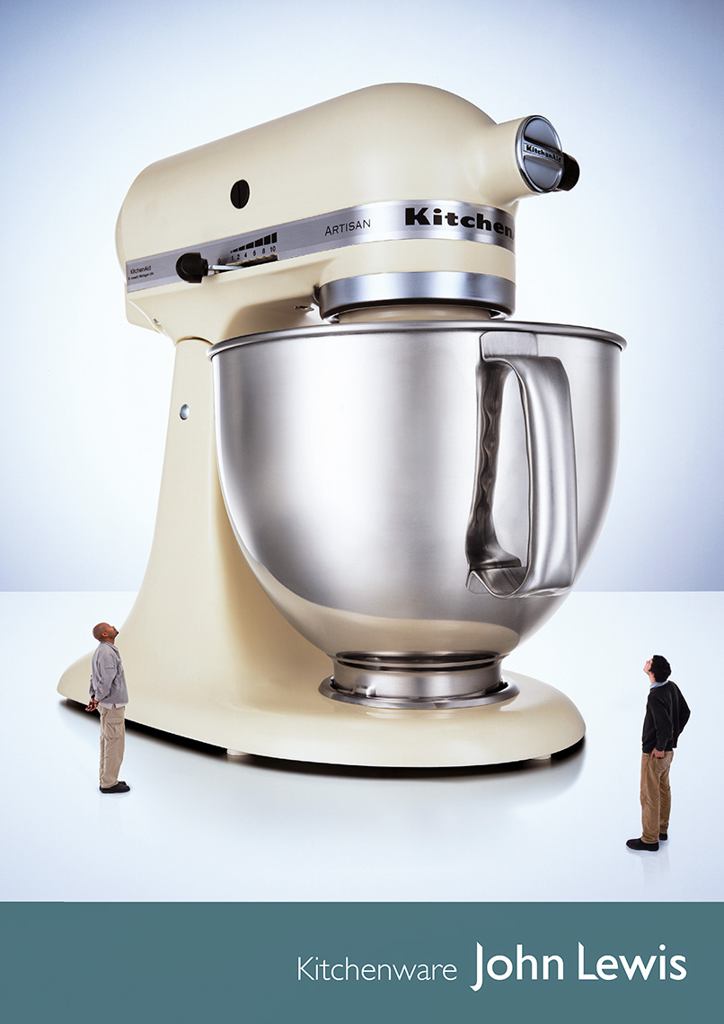 John Lewis Kitchen Aid Mixer | Colin Campbell-Still Life  Photographer