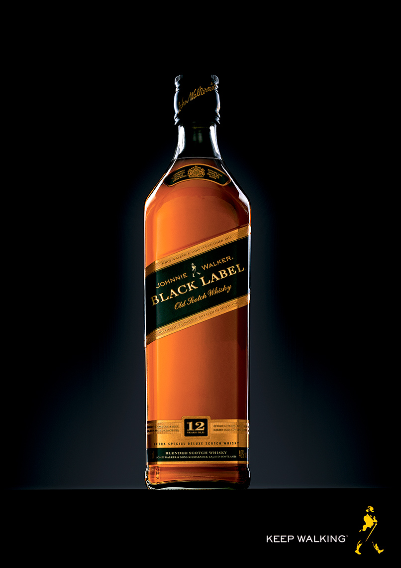 Johnnie Walker Black Label Whisky | Colin Campbell-Food  Photographer