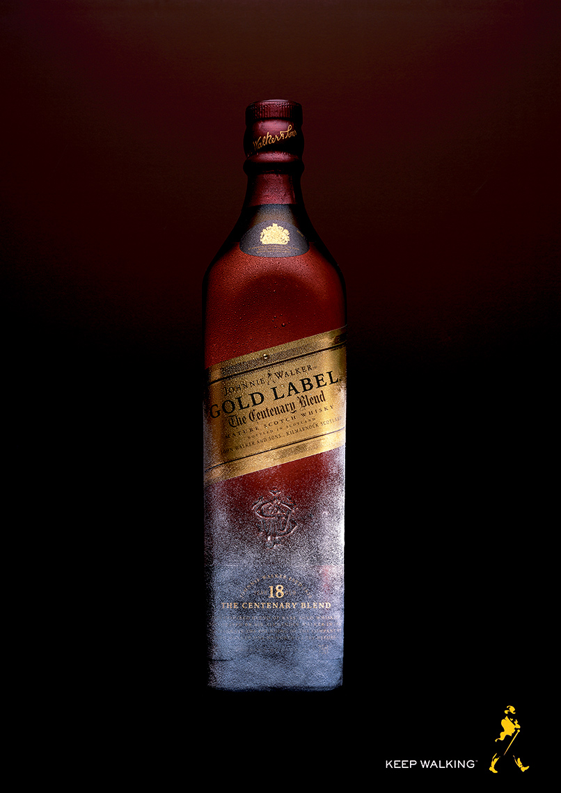 Johnnie Walker gold Label Whisky | Colin Campbell-Food  Photographer