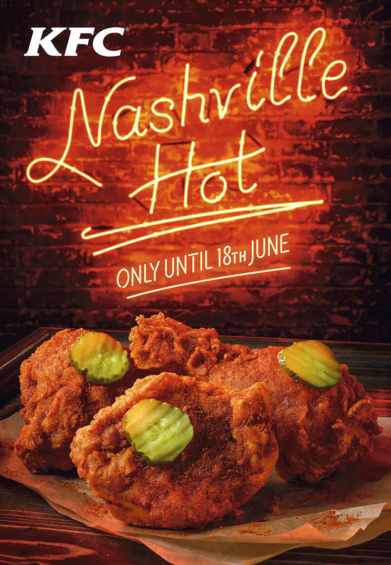 KFC Nashville hot | Colin Campbell - Food Photographer