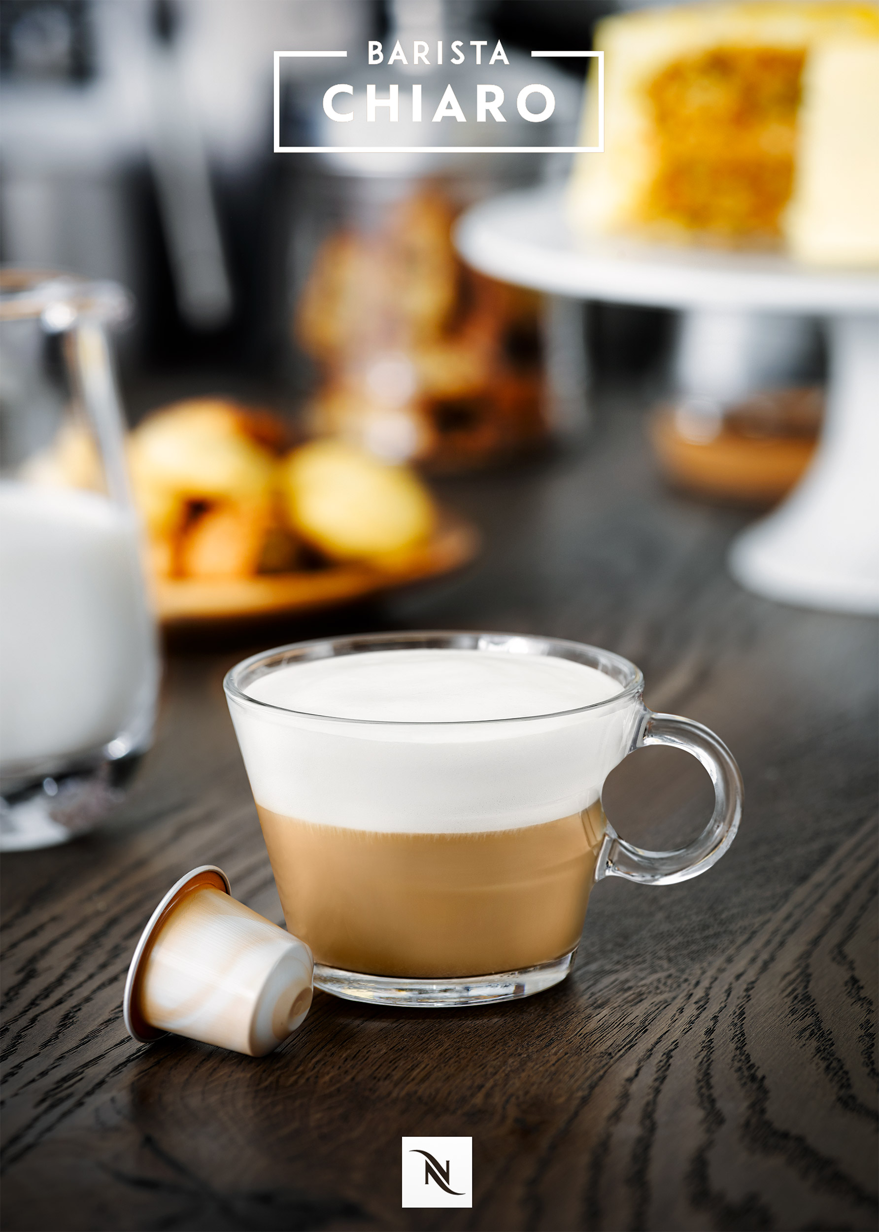 Nespresso Cappucino coffee | Colin Campbell-Food Photographer