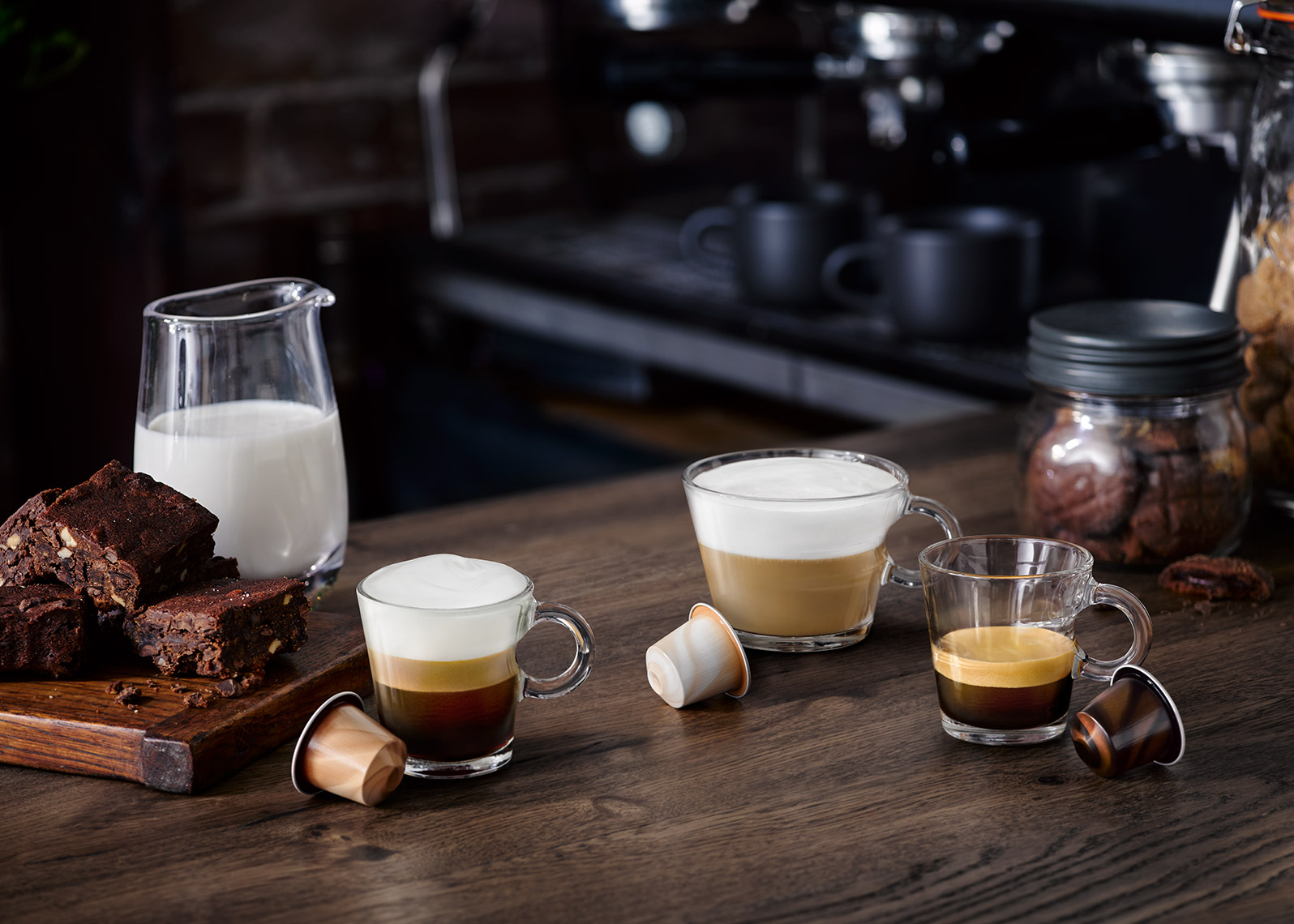 Nespresso Barista Group shot | Colin Campbell-Food Photographer