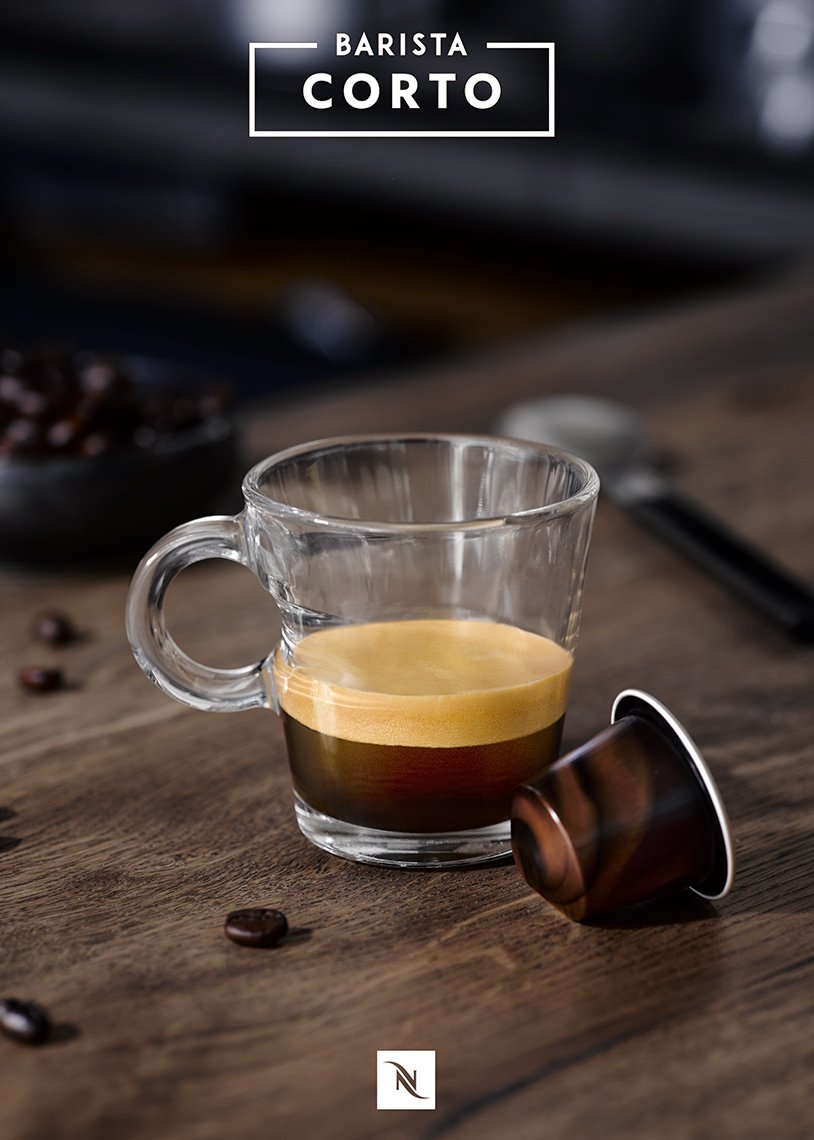 Nespresso Espresso coffee | Colin Campbell - Food Photographer