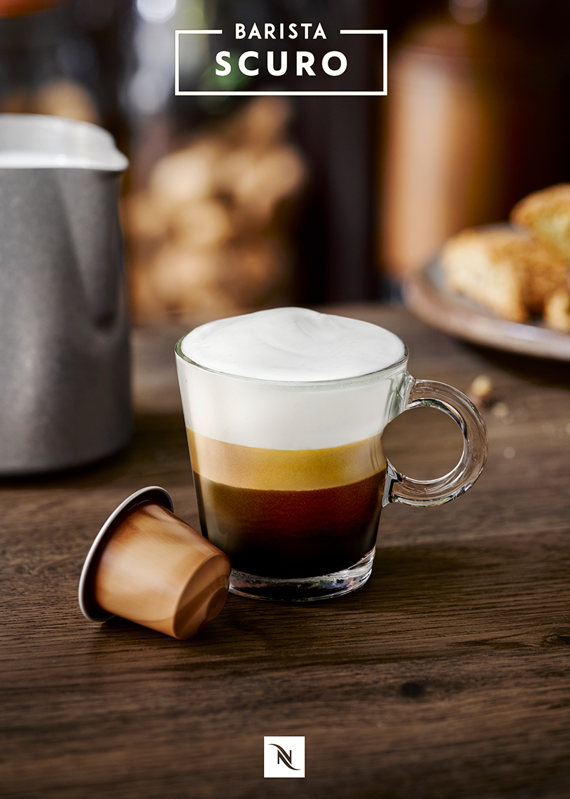 Nespresso Ristretto coffee | Colin Campbell-Food Photographer
