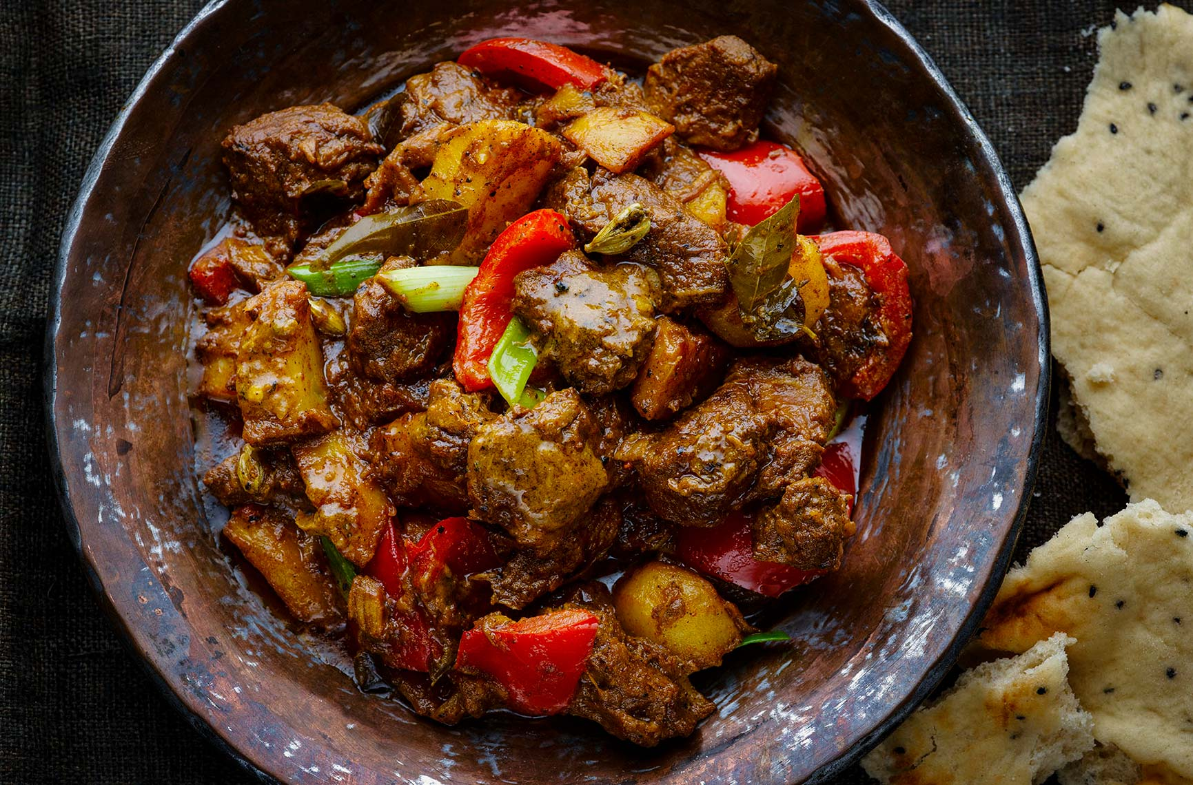 Ottolenghi Mutton curry | Colin Campbell-Food Photographer