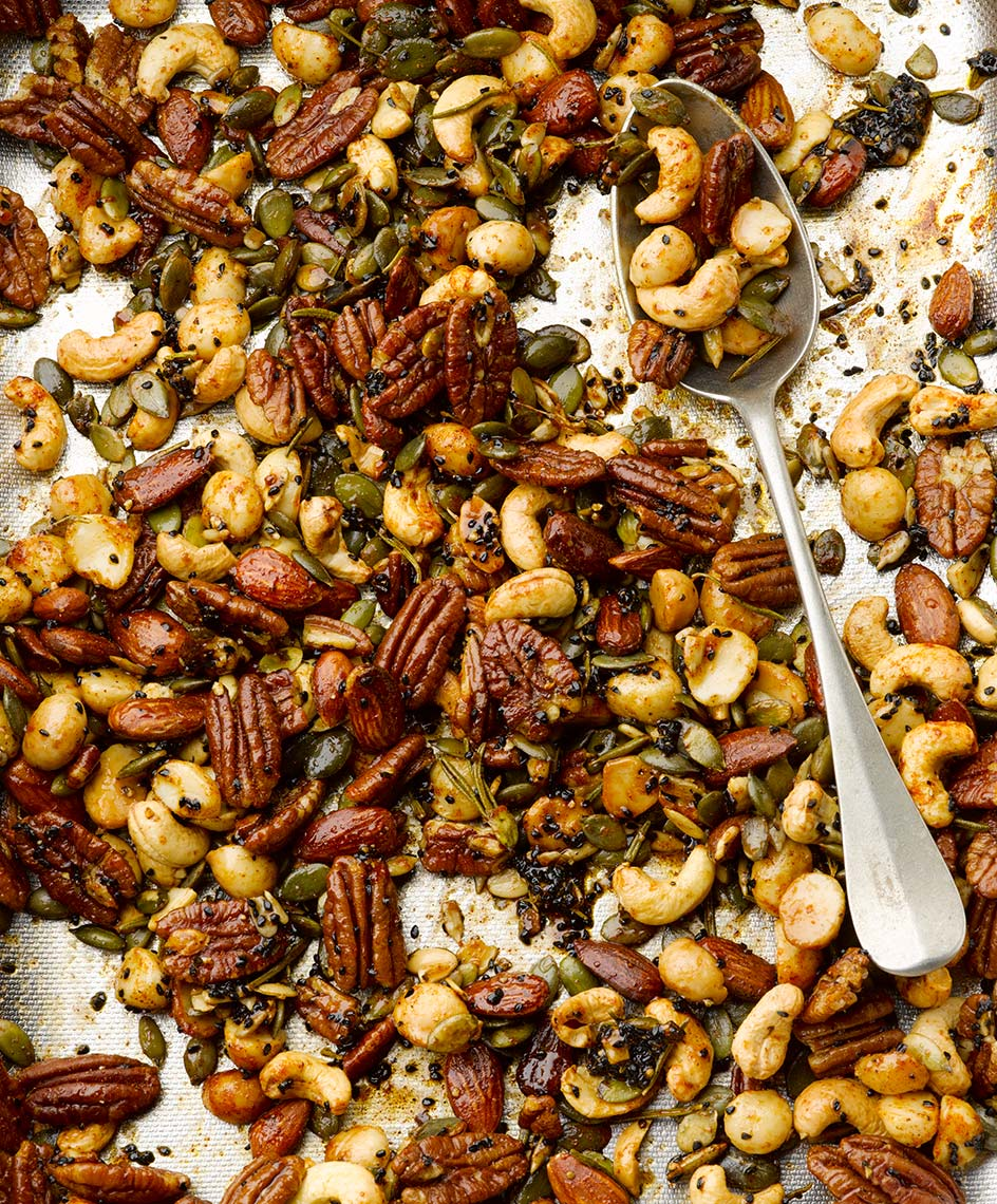 Ottolengh Spicy nuts | Colin Campbell - Food Photographer