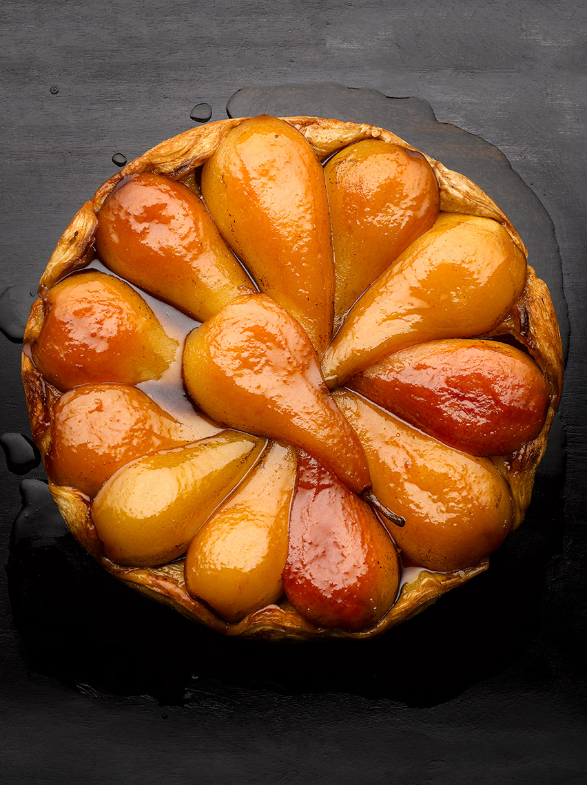 Pear Tartin | Colin Campbell - Food Photographer