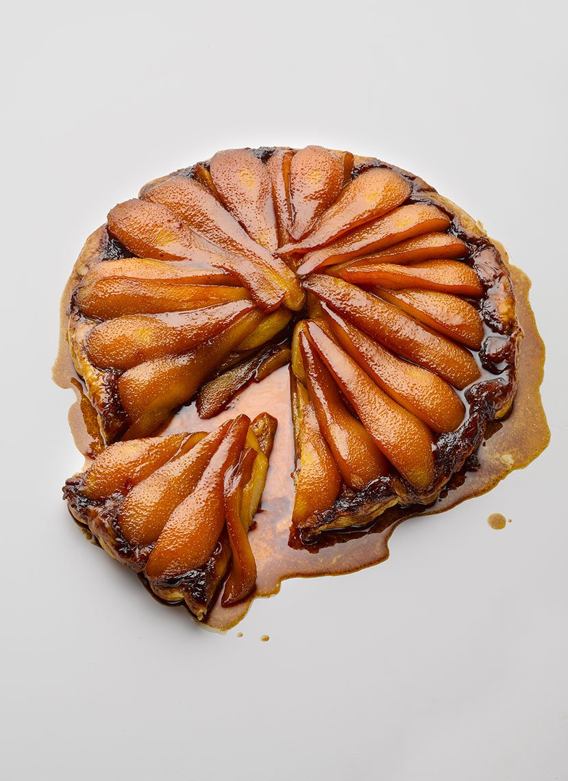 Peyton and Byrne Caramelised Pear-Puff | Colin Campbell - Food Photographer