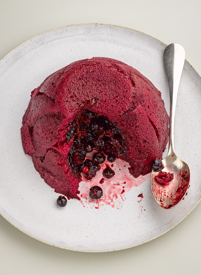 Peyton and Byrne Summer Pudding | Colin Campbell - Food Photographer