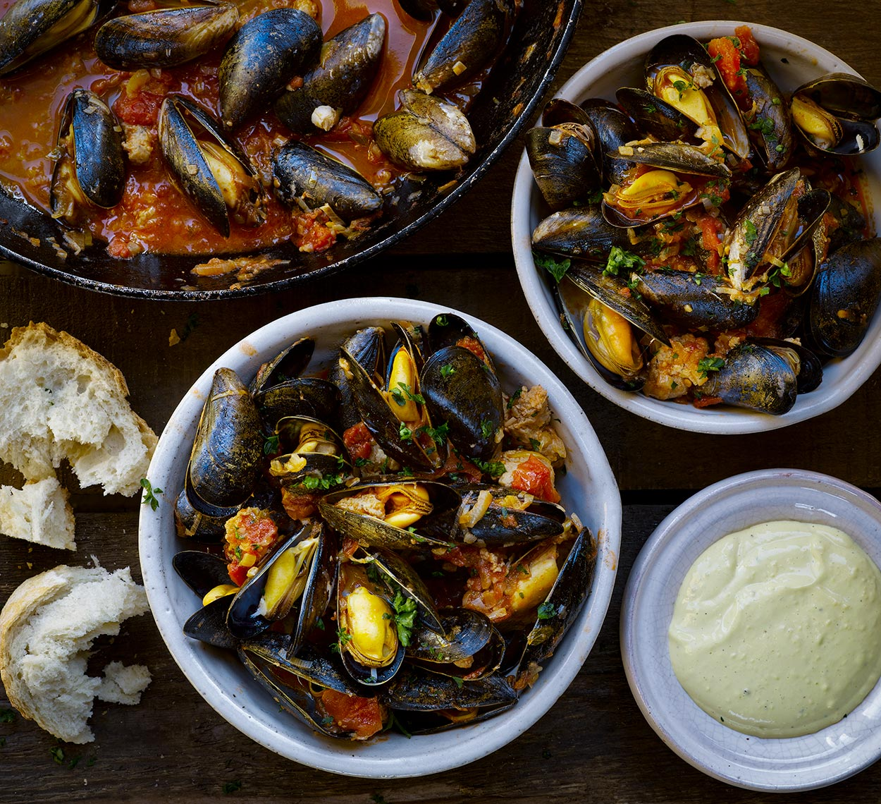 River Cottage Mussels | Colin Campbell - Food Photographer