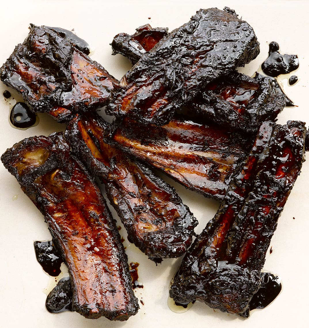 River Cottage Sticky ribs | Colin Campbell - Food Photographer