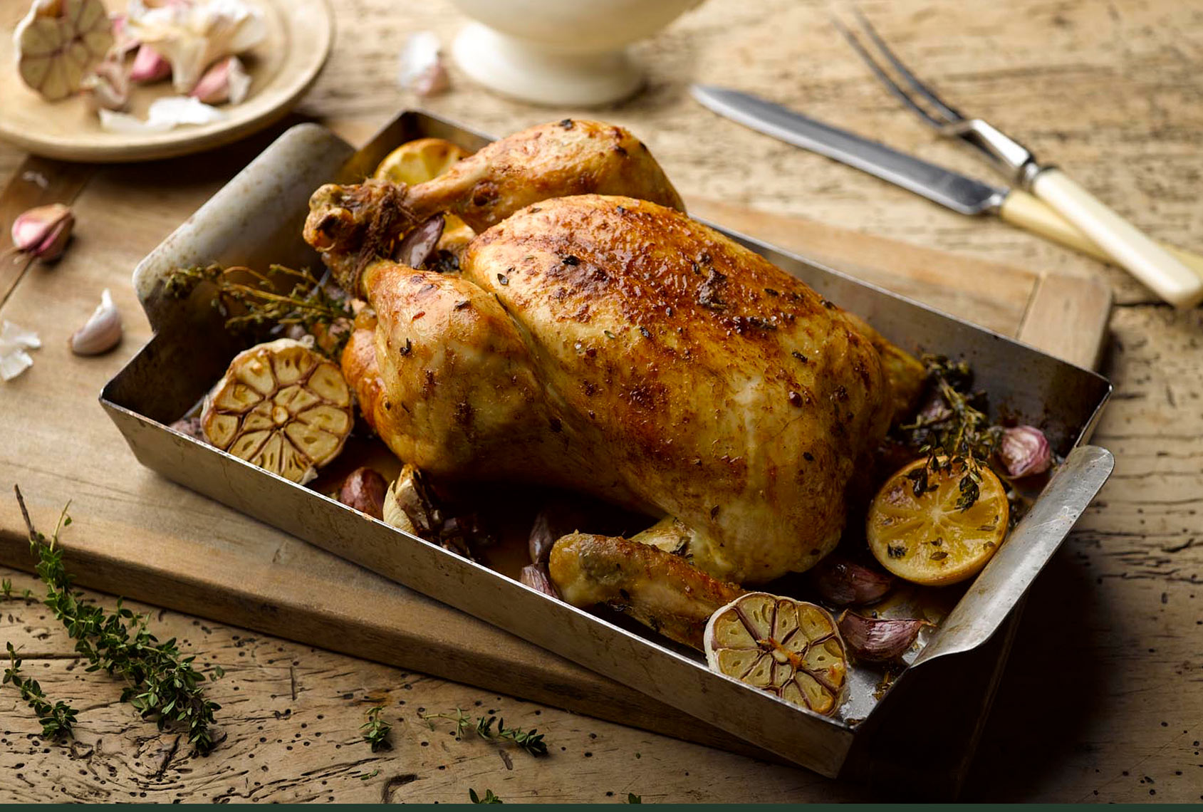 Roast chicken | Colin Campbell - Food Photographer