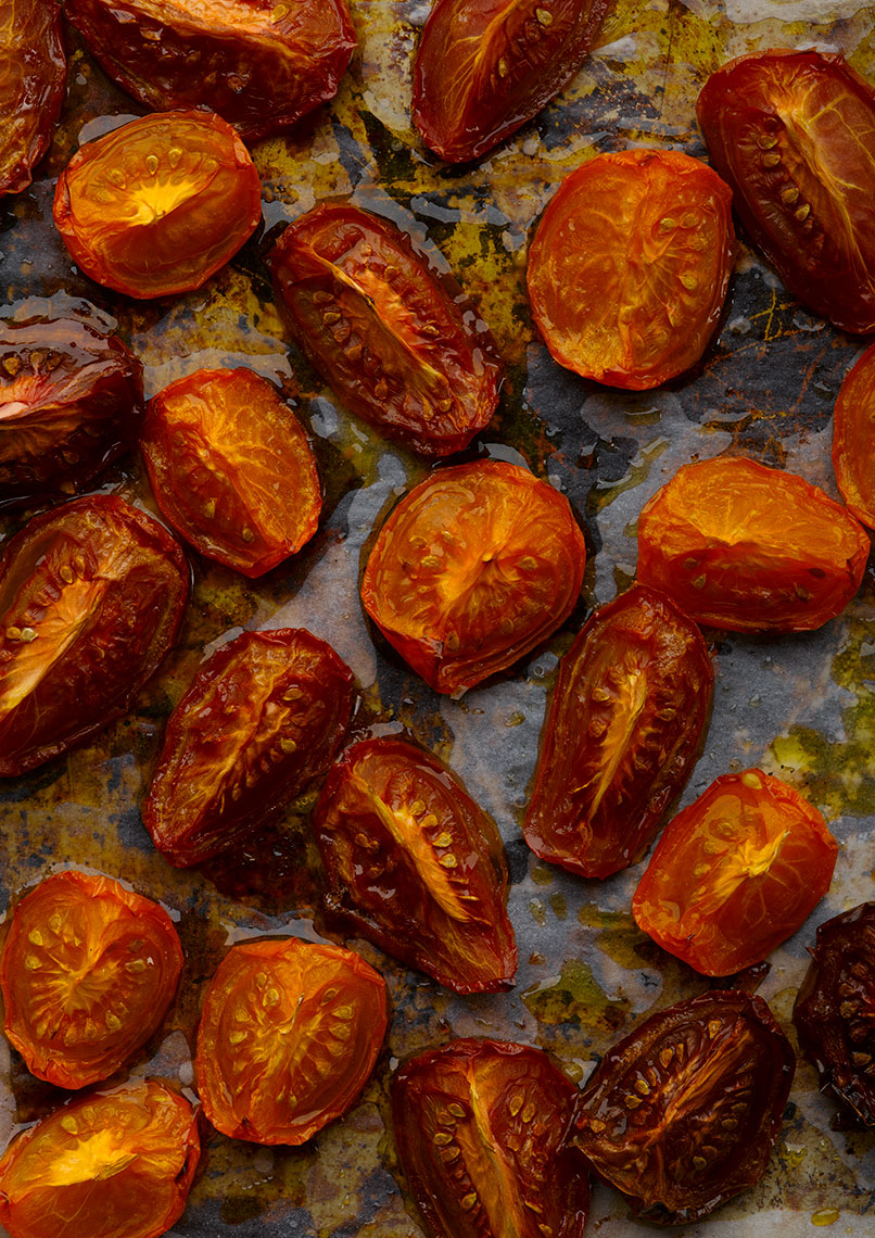 Roasted Tomatoes | Colin Campbell - Food Photographer