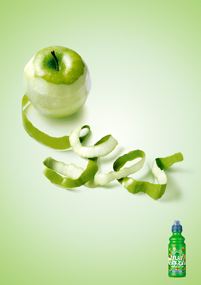 Robinsons Fruit Shoot Apple | Colin Campbell-Food  Photographer