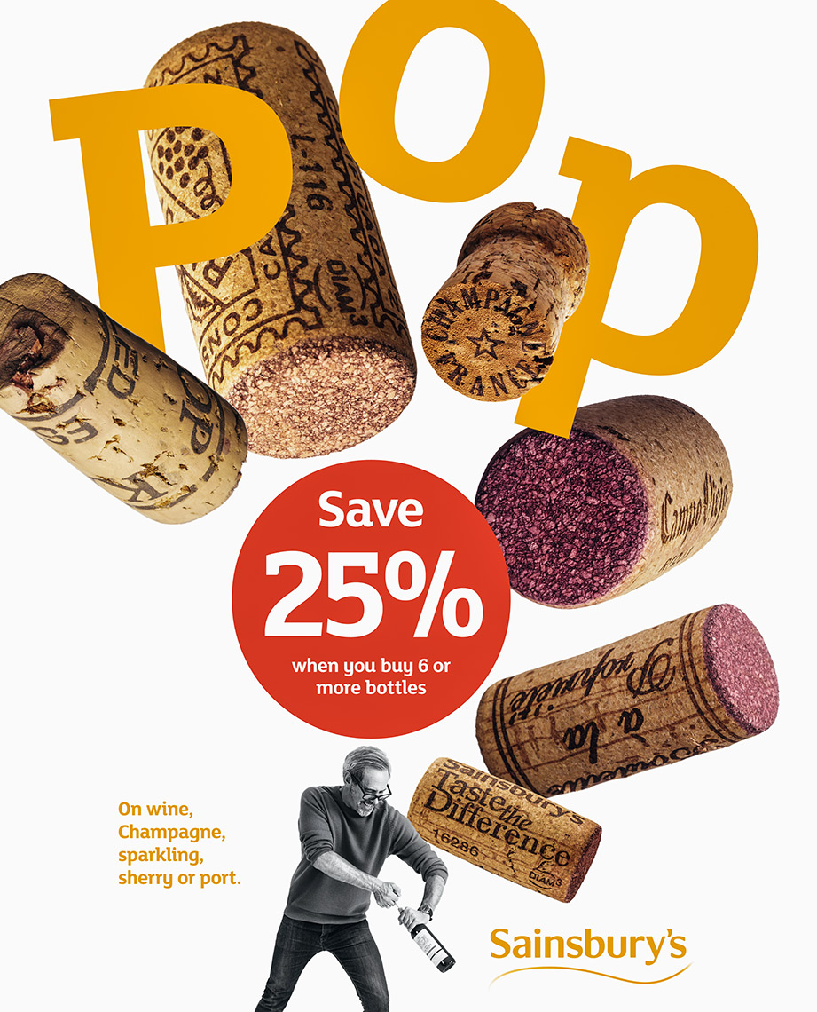 Sainsburys-corks | Colin Campbell - Food Photographer