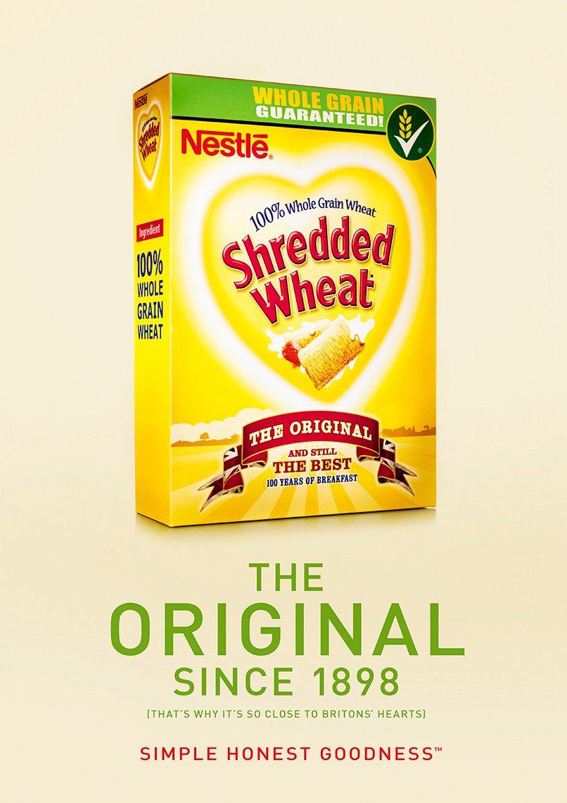 Shredded Wheat | Colin Campbell-Food Photographer