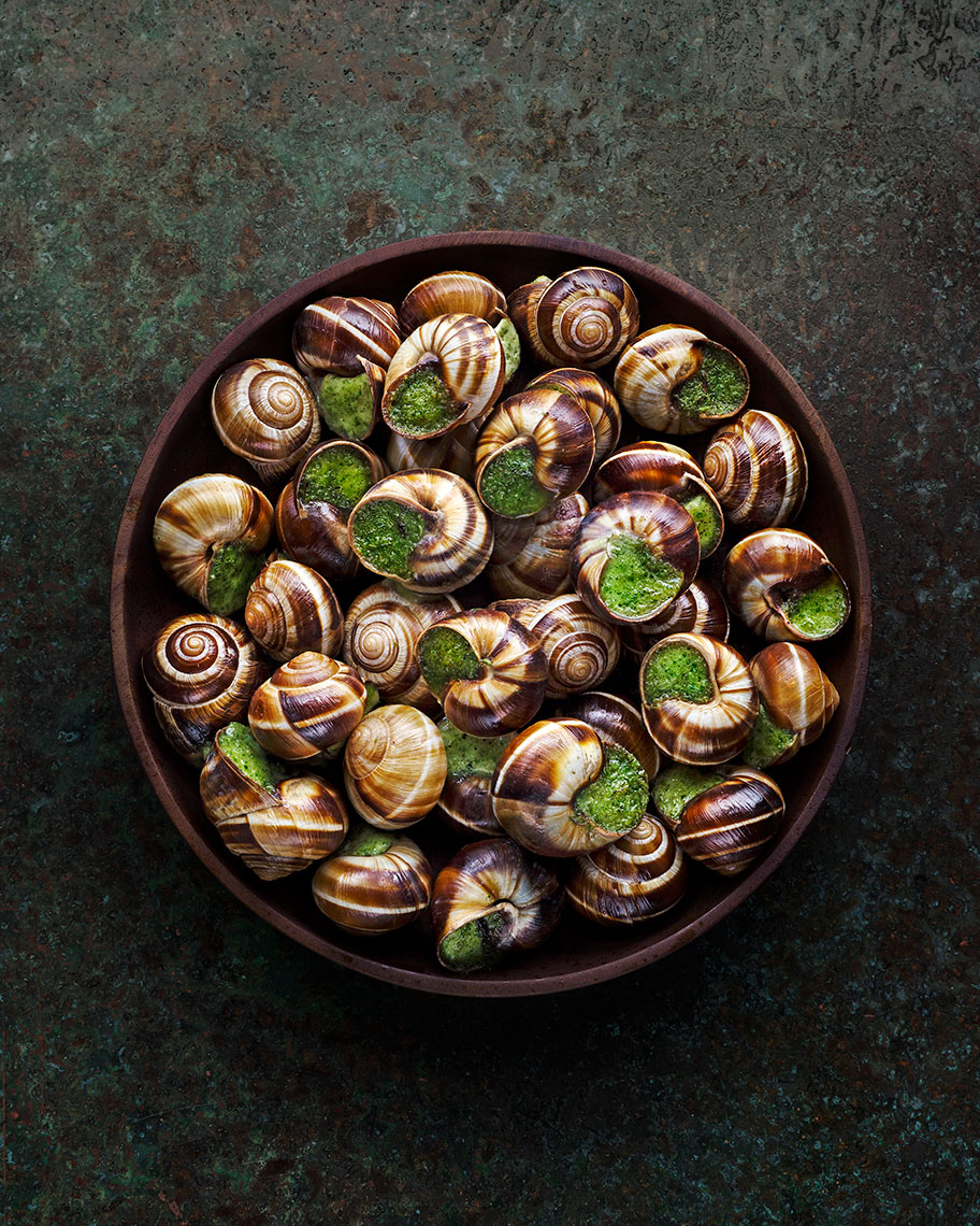 Snails | Colin Campbell - Food Photographer