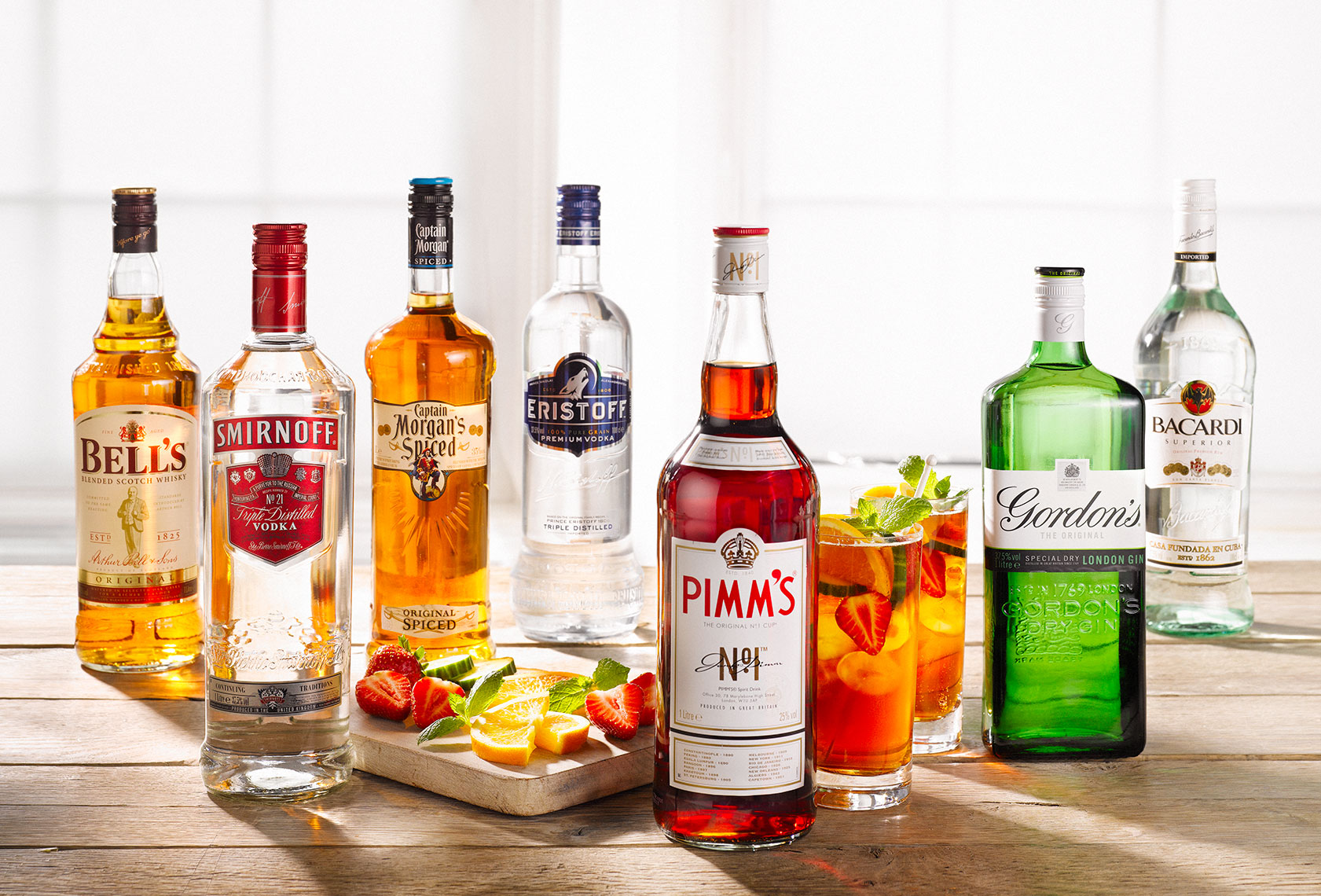 Tesco Spirits | Colin Campbell-Food Photographer