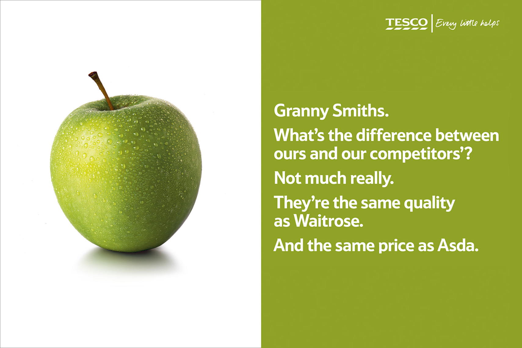 Tesco Apple | Colin Campbell-Food Photographer