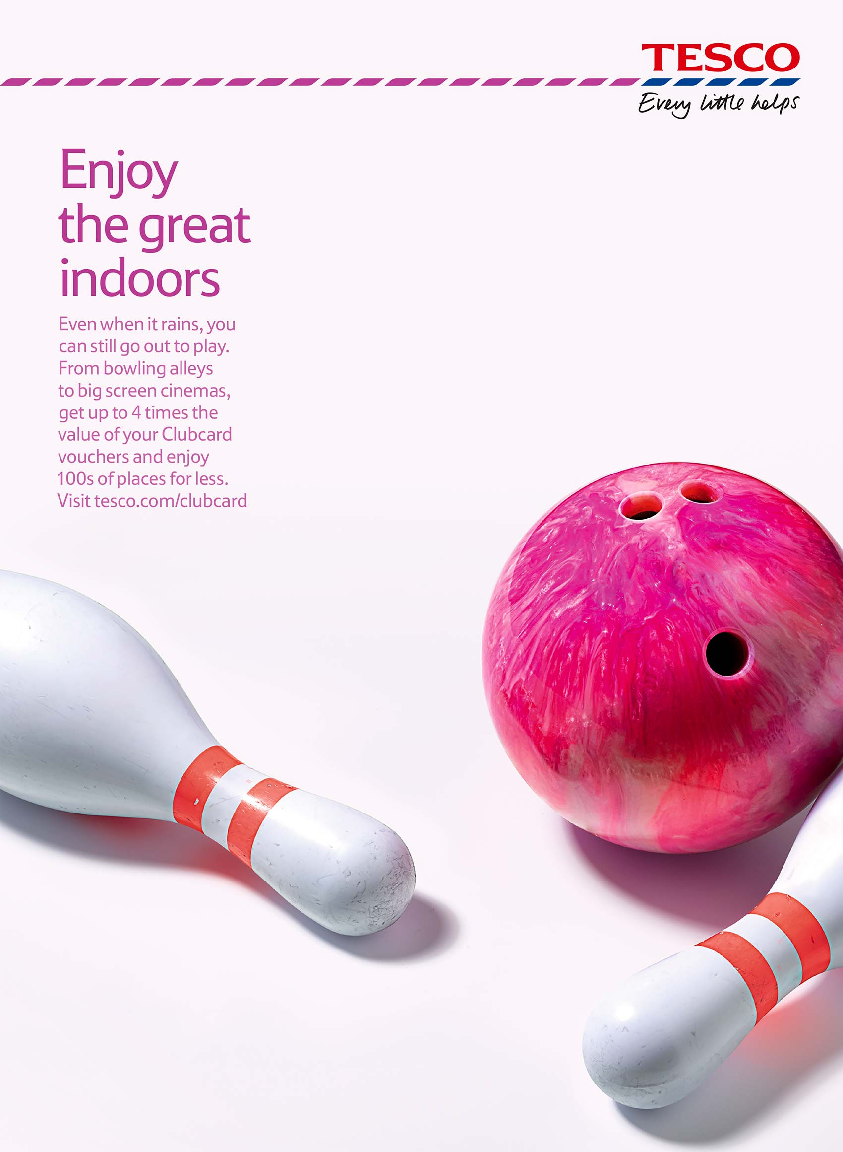 Tesco Bowling | Colin Campbell-Still Life Photographer