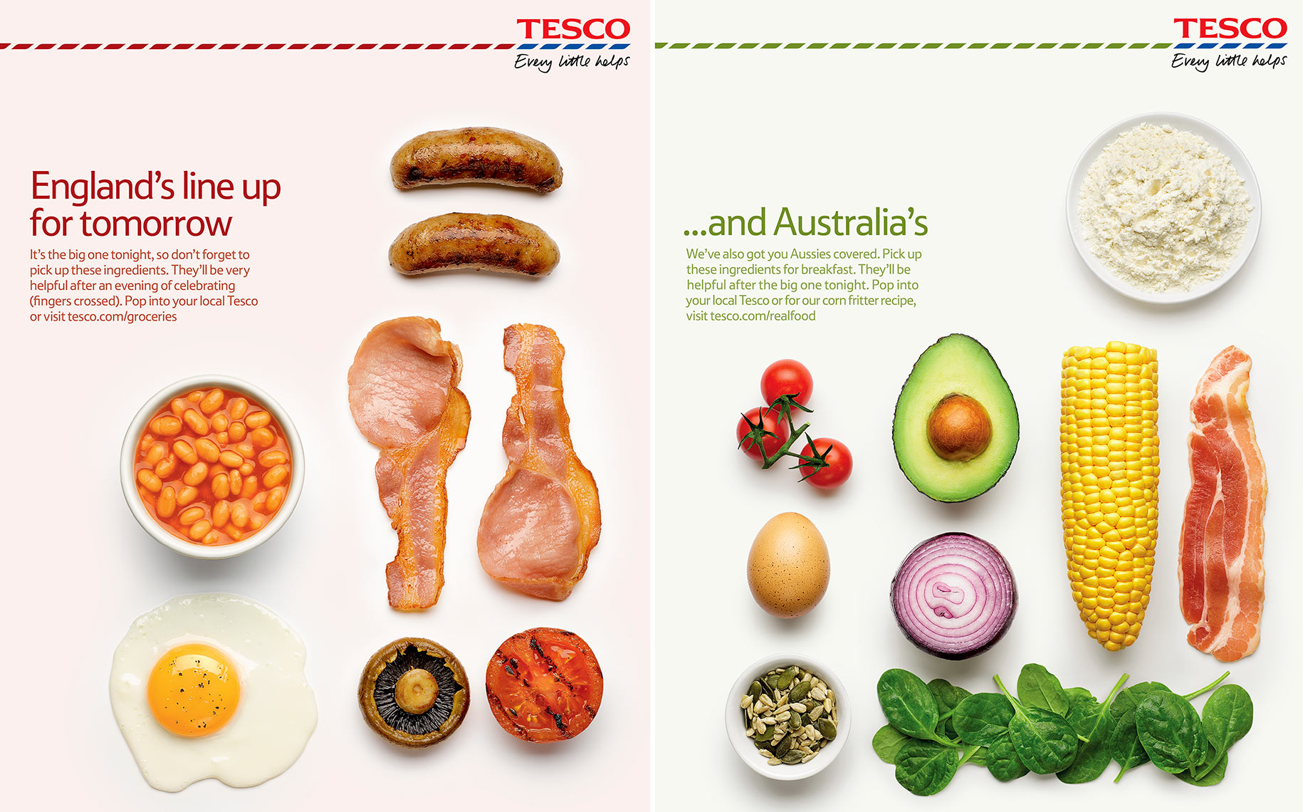 Tesco Breakfasts | Colin Campbell-Food Photographer