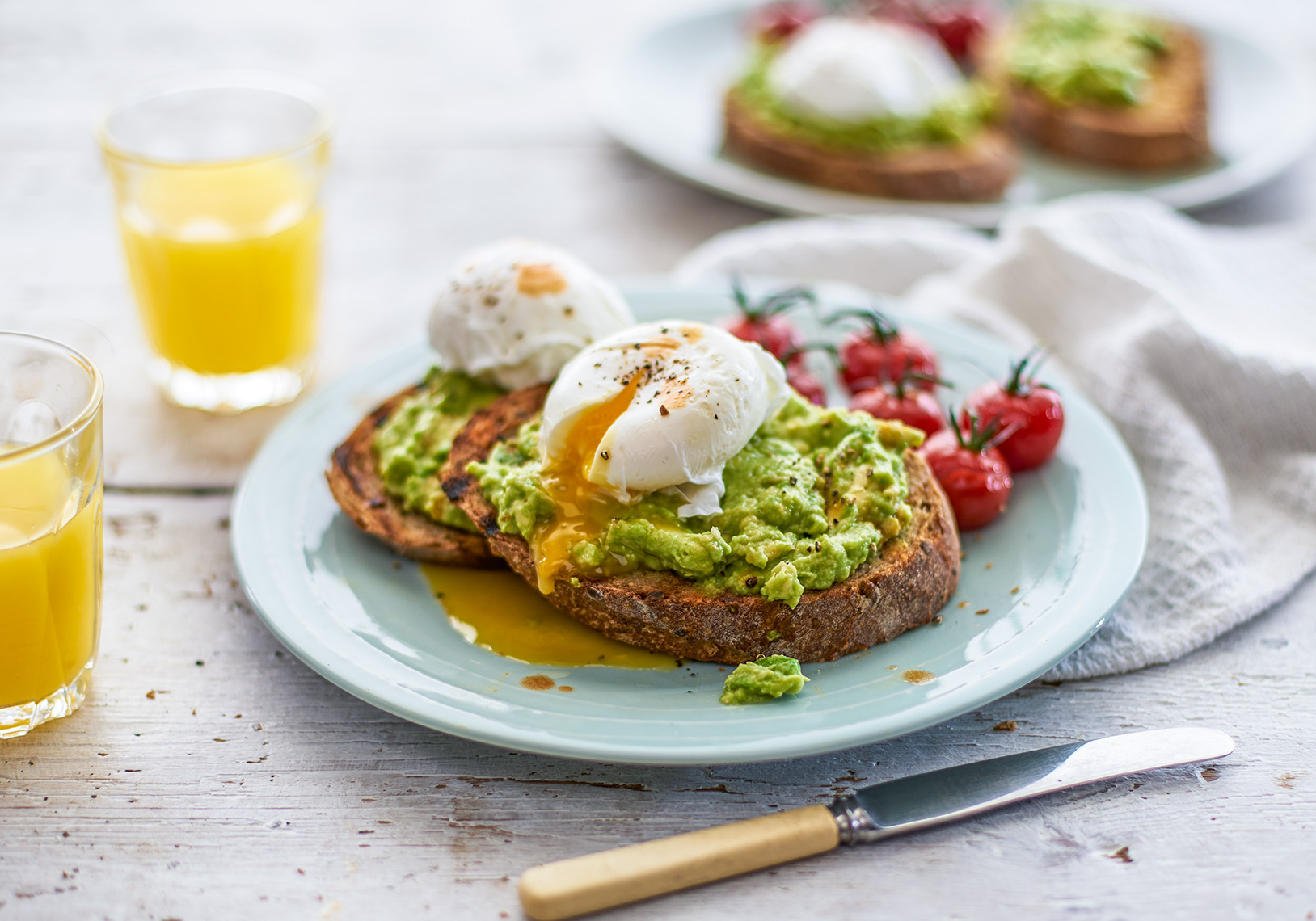 Tesco Egg and Avocado | Colin Campbell-Food Photographer