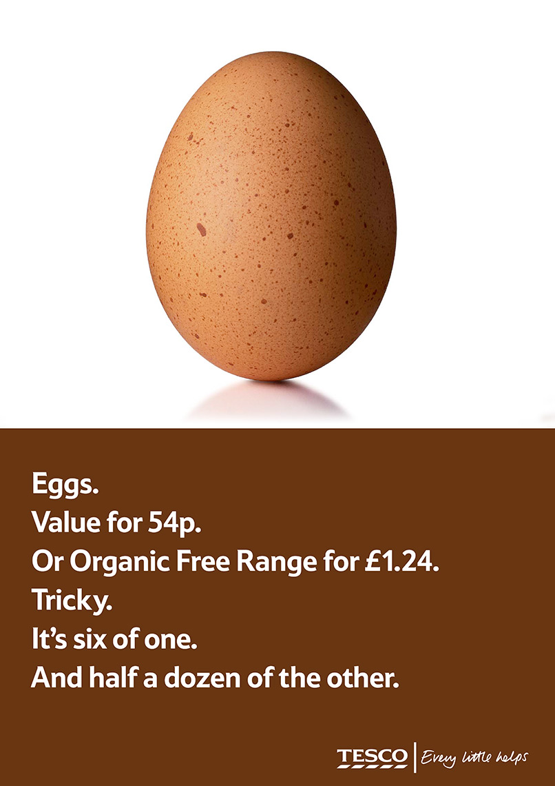Tesco Egg | Colin Campbell-Food Photographer