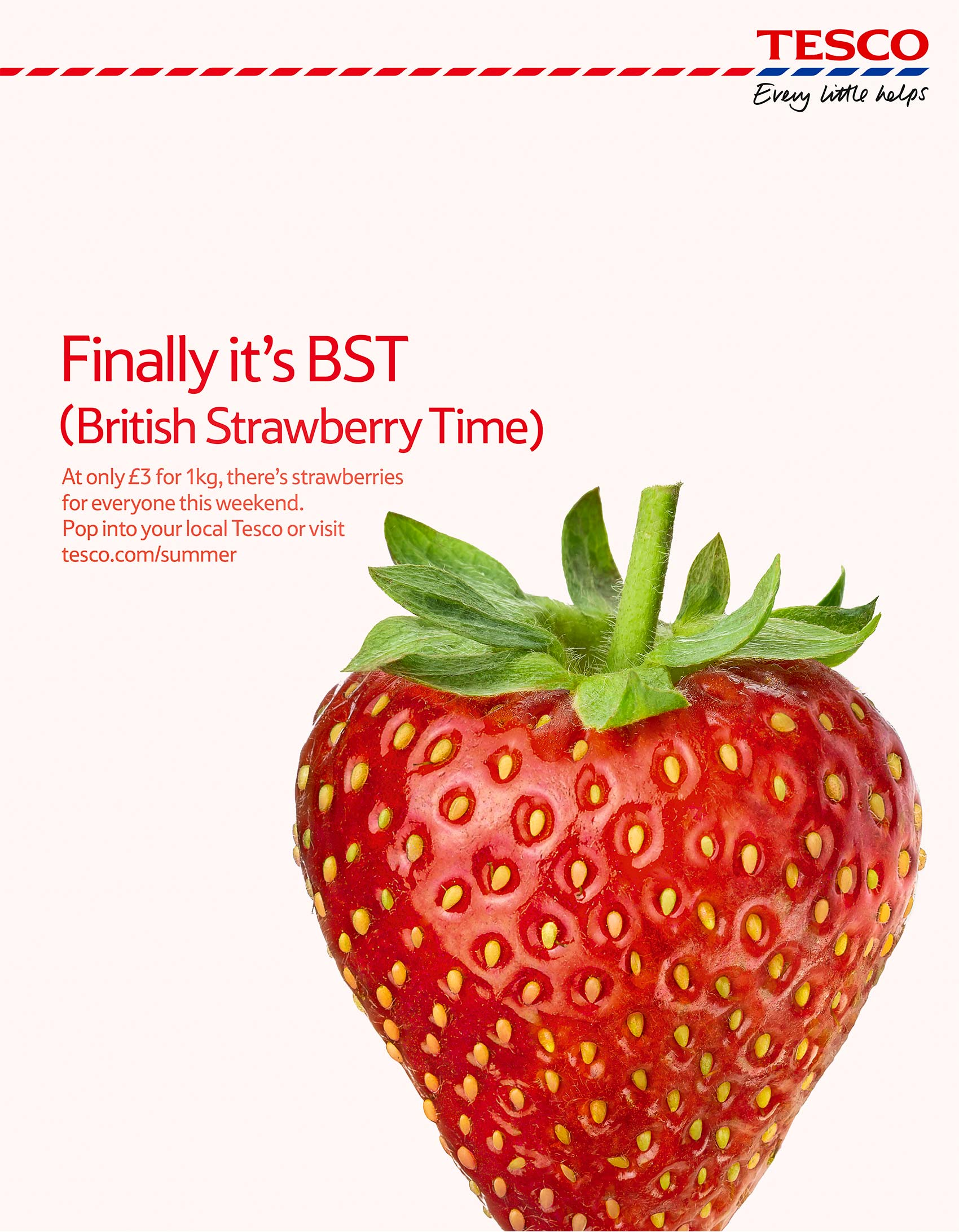 Tesco summer strawberry | Colin Campbell-Food Photographer