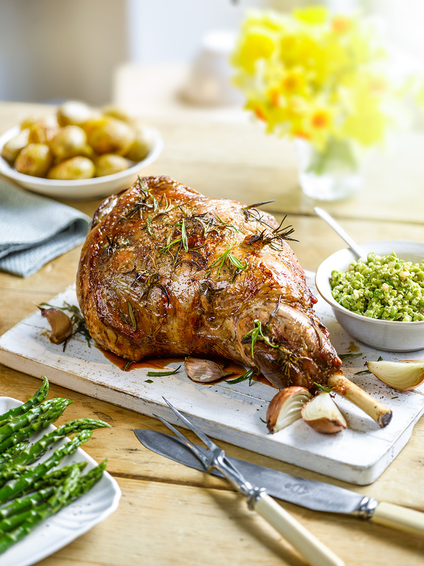 Tesco easter lamb | Colin Campbell-Food Photographer